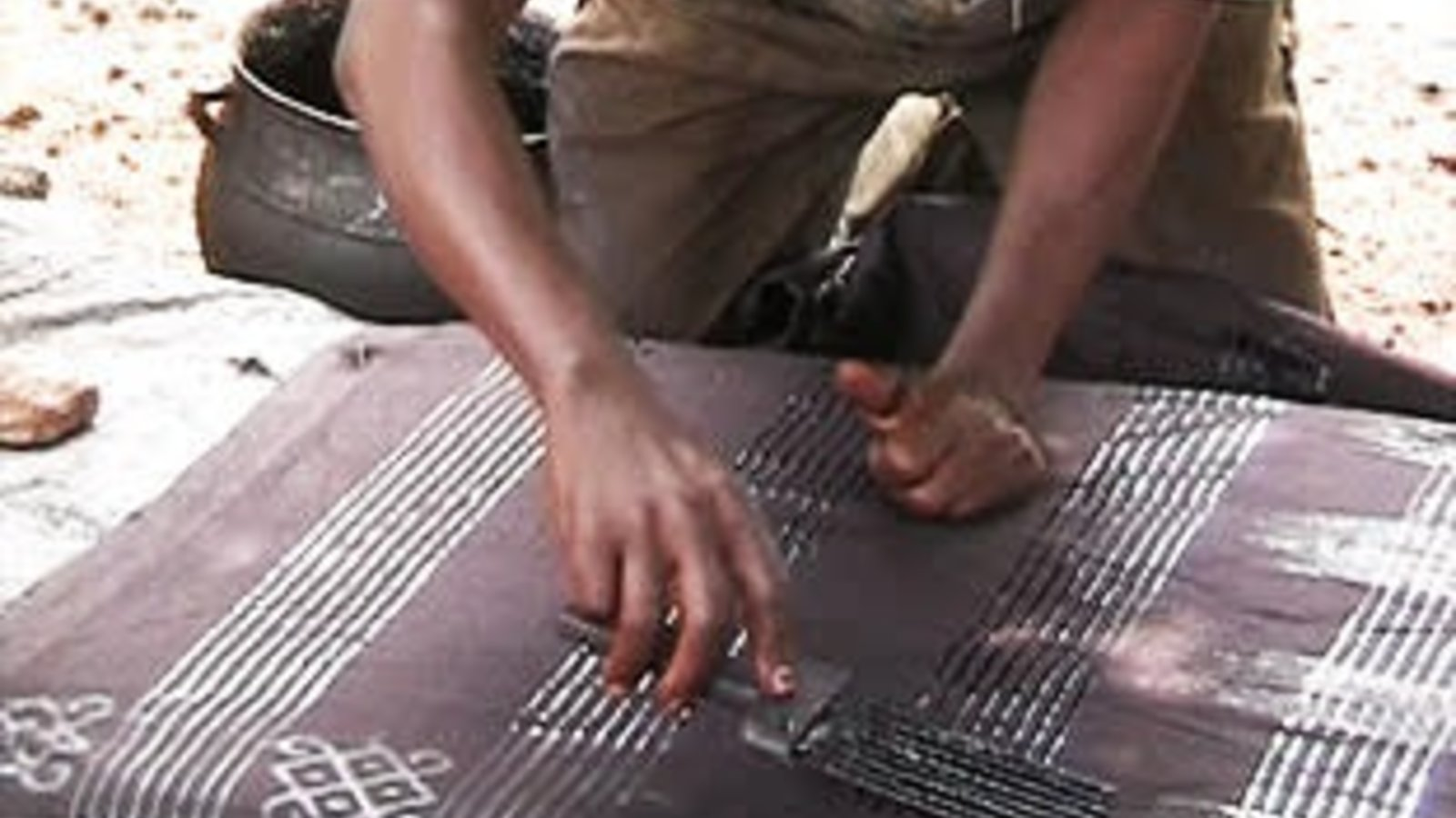 Adinkra: Printed Ceremonial Cloths Of Ghana